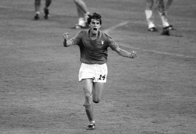 Tardelli invoca su famoso grito del Mundial de 1982 contra el coronavirus. EFE