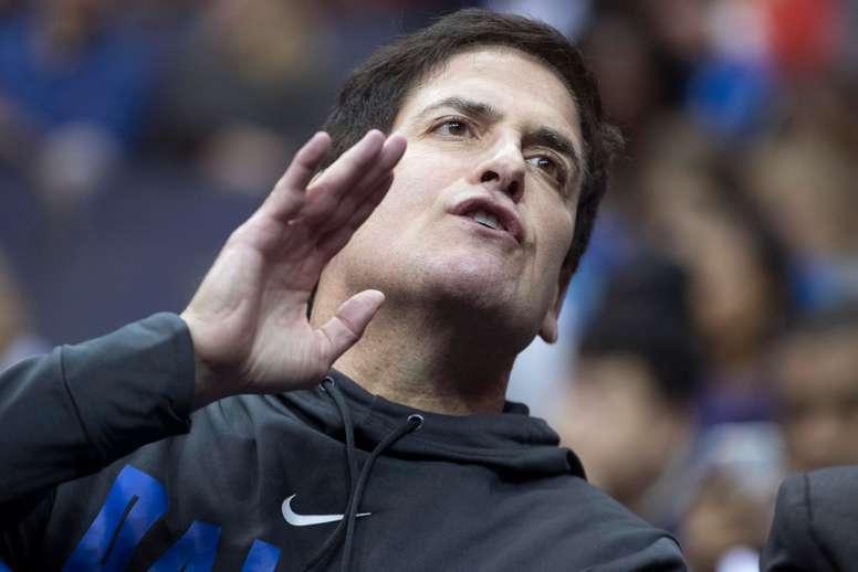 El dueño de los Dallas Mavericks Mark Cuban. EFE/MICHAEL REYNOLDS/Archivo