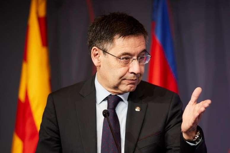 El Barça camina hacia la reducción de salarios. EFE