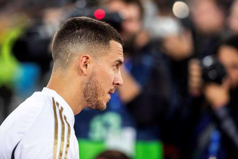Berbatov falou sobre Hazard. EFE/Rodrigo Jiménez