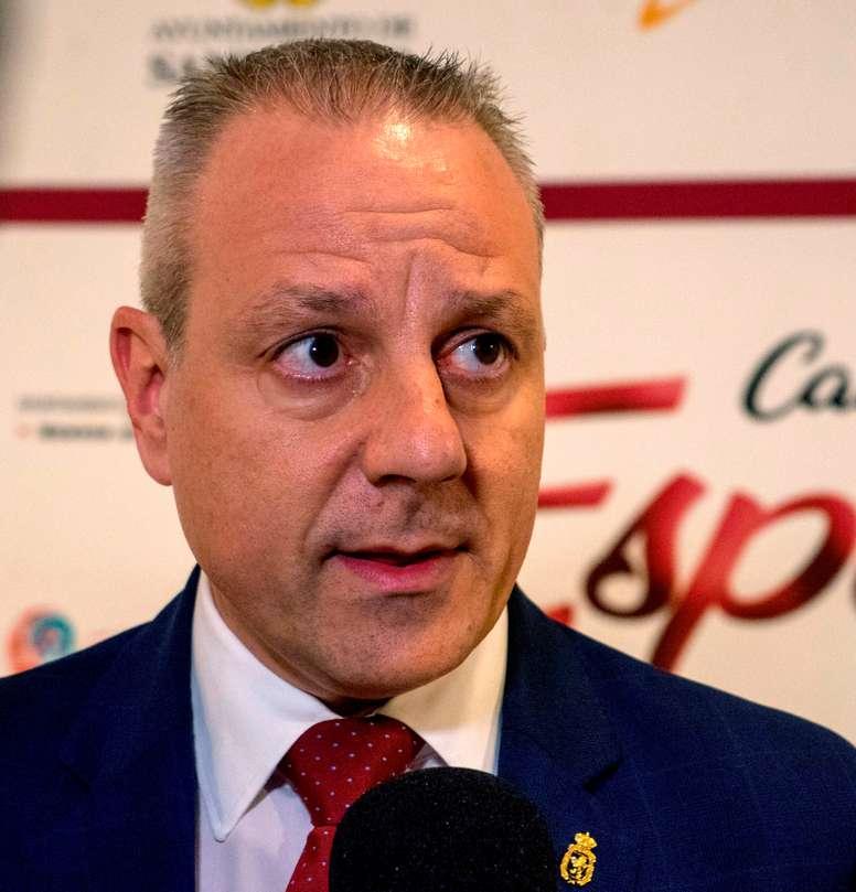 El presidente de la Federación Española de Balonmano, Francisco Blázquez. EFE/Román G. Aguilera/Archivo