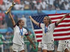 Estados Unidos se asienta como la mejor selección del mundo. EFE