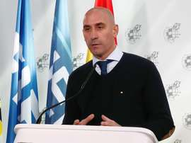 Luis Rubiales says health must come first at all costs. EFE