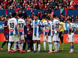 El Espanyol presenta un ERTE. EFE