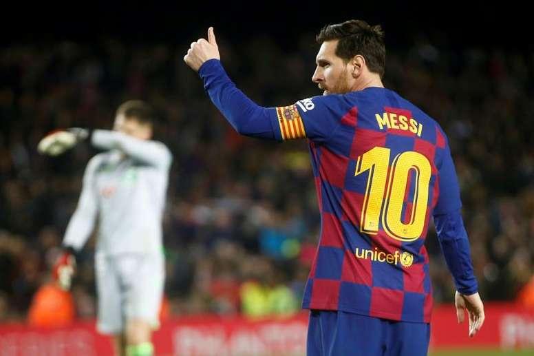 Messi confirme la baisse des salaires au Barça. EFE