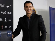 Burdisso repasó nombres de delanteros históricos. EFE