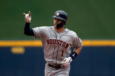 En la imagen, el jugador Carlos Correa de los Astros de Houston. EFE/ Miguel Sierra/Archivo