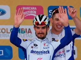 El ciclista francés Julian Alaphilippe. EFE/Mauricio Dueñas Castañeda/Archivo