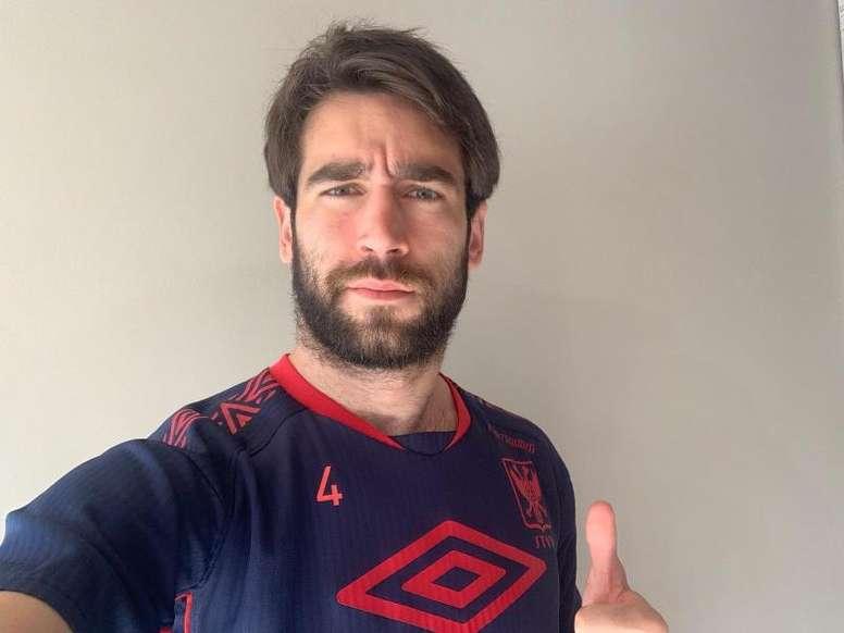 Pol García quiso irse al Madrid. EFE