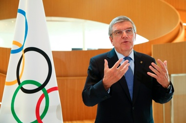 Thomas Bach, presidente del Comité Olímpico Internacional EFE/EPA/DENIS BALIBOUSE/Archivo