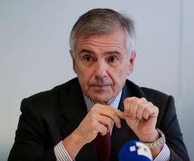 El vicepresidente del Comité Olímpico Internacional (COI) Juan Antonio Samaranch. EFE/ Ángel Díaz/Archivo