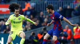 Cucurella todavía sueña con triunfar en el Barça. EFE