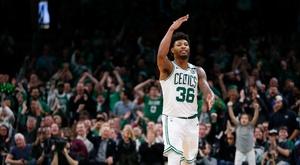 Boston Celtics guard Marcus Smart. EFE/EPA/CJ GUNTHER/Archivo