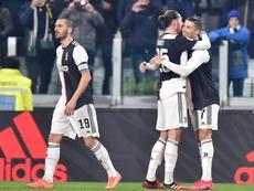 La Juventus estaba en camino de reeditar el título pese a su irregularidad. EFE