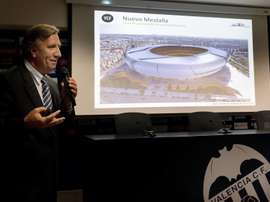 Sigue sin haber fecha para el estreno del nuevo estadio del Valencia. EFE