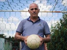 Alzamendi, un ex futbolista único en su especie. EFE