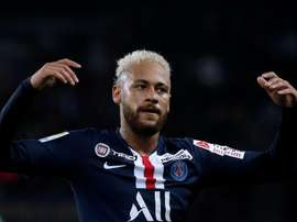 Neymar se aproxima do fim de contrato com o PSG e vê o retorno mais próximo. EFE/Yoan Valat/Arquivo