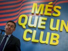 Bartomeu speaks out on the controversy with the pay cuts. EFE