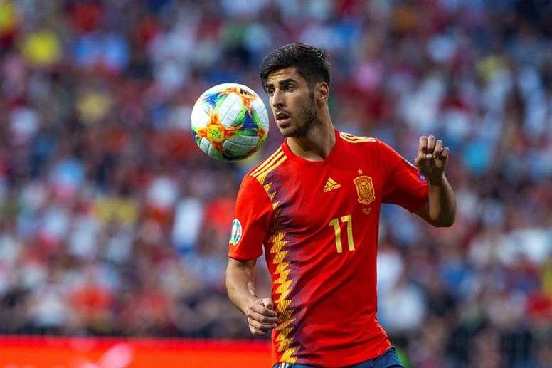 Após 10 meses em recuperação, Marco Asensio está prestes a voltar. EFE / Rodrigo Jiménez/Arquivo
