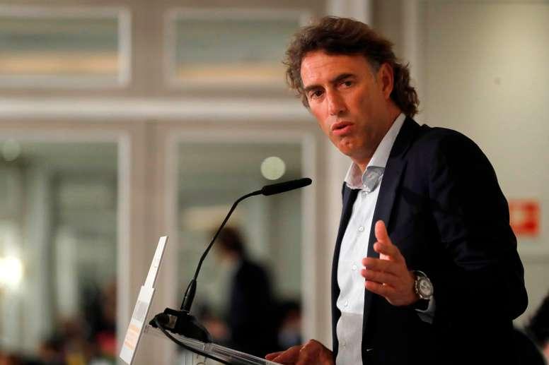 El presidente del Mutua Madrid Open, Gérard Tsobanian. EFE/Juan Carlos Hidalgo/Archivo
