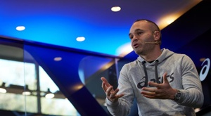 Andres Iniesta has done his bit to help in the fight against corona. EFE