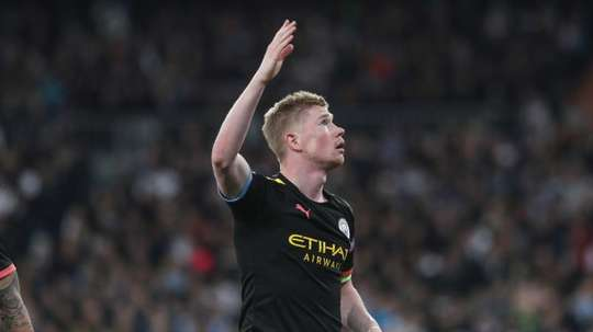 Martínez spoke about De Bruyne's future. EFE