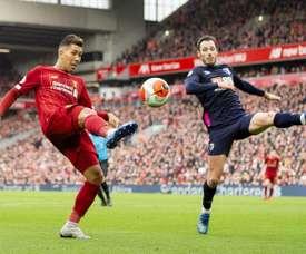 La Premier League ne sait pas quand le football reprendra. EFE