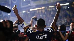 Carlos Tevez prolonge avec Boca Juniors. EFE