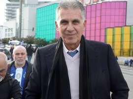 Carlos Queiroz se reunió de forma virtual con el resto de seleccionadores. EFE/Archivo