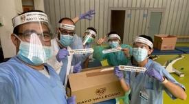 Las fábricas familiares del presidente del Rayo, a disposición del Gobierno. EFE
