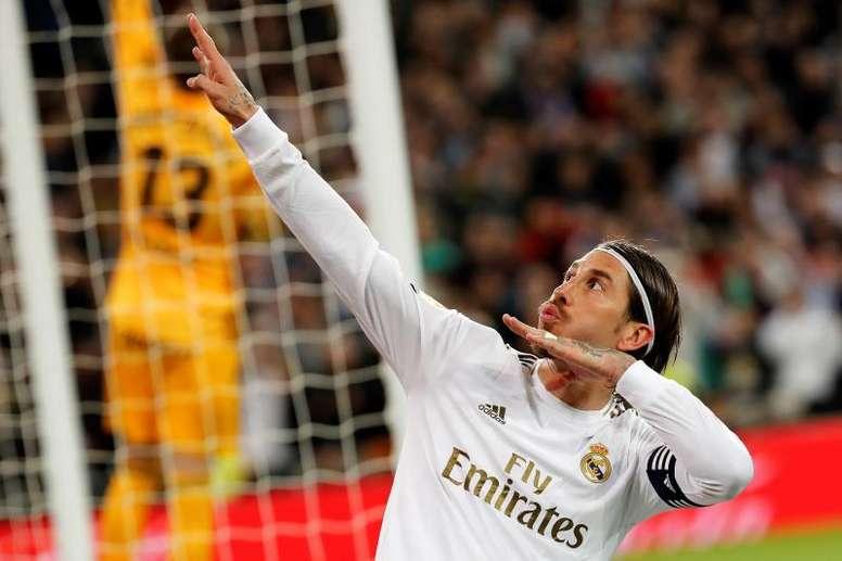 Sergio Ramos está pronto para voltar. EFE