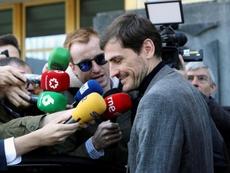 Casillas no se ve ganando las elecciones por el nombre. EFE