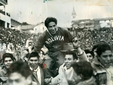 Bolivia añora y recuerda el Sudamericano de 1963. EFE/Carlos Mesa