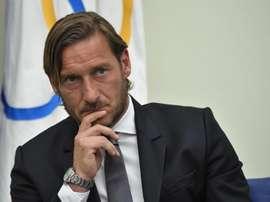 Francesco Totti compartió algunos secretos. EFE