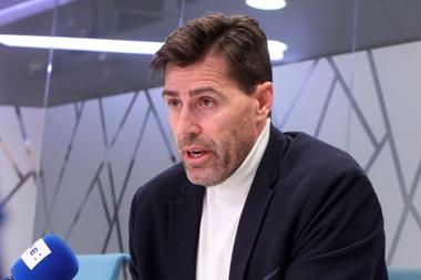 El presidente de la Federación Española de Atletismo, Raúl Chapado, durante una entrevista con la Agencia EFE. EFE/ Adriana Sesma/Archivo