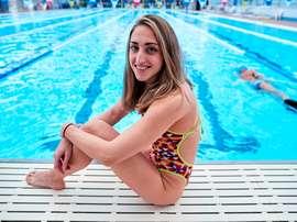 La nadadora Lidón Muñoz. EFE/Alejandro García/Archivo