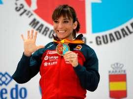 La española Sandra Sánchez. EFE/ Pepe Zamora/Archivo