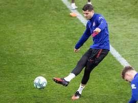 Morata reveló cómo sigue el Atlético a sus jugadores durante el confinamiento. EFE