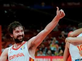 El base de la selección española Sergio Llull. EFE/Juan Carlos Hidalgo/Archivo