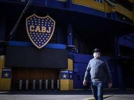 Boca não reduzirá salários, mas reterá 70% dos bônus. EFE/Juan Ignacio Roncoroni