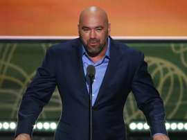 En la imagen, el presidente de la UFC, Dana White. EFE/Shawn Thew/Archivo