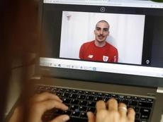 Córdoba habló en una rueda de prensa 'online'. EFE