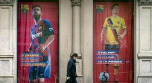 Un mes sin Messi. EFE