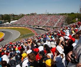 Fotografía tomada el pasado 9 de junio en la que se registró el desarrollo del Gran Premio de Canadá de Fórmula 1, en el autódromo Gilles Villeneuve de Montreal (Canadá). EFE/Valdrin Xhemaj/Archivo