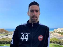 El ex canterano del Real Madrid David Mateos juega en el Hapoel Raanana. EFE/DavidMateos