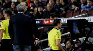 The 'Clásico' referee has been chosen. EFE