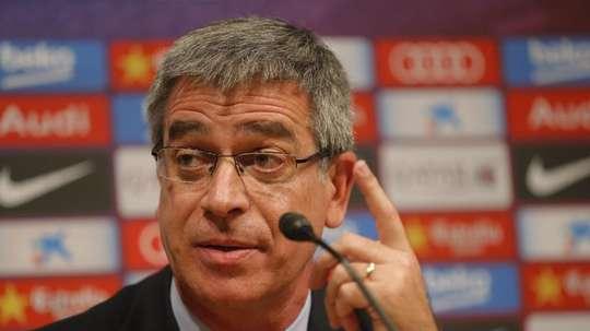 Jordi Mestre habló de la brecha institucional en el Barça. EFE