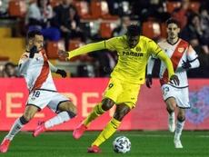 El Villarreal, con una opcion de compra sobre Zambo Anguissa. EFE