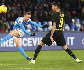 La succulente offre de Naples à Fabián pour l'éloigner du Real et du Barça. EFE