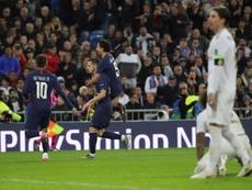 Sarabia eligió su mejor gol con el PSG. EFE